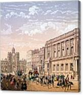 St James Palace And Conservative Club Canvas Print