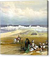 St. Jean D'acre April 24th 1839 Canvas Print