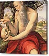 St. Jerome Canvas Print