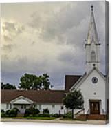 St John Lutheran Church Of Prairie Hill Canvas Print