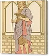 St John The Baptist Canvas Print