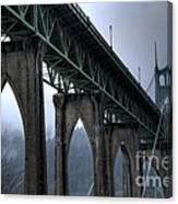 St Johns Bridge Oregon Canvas Print