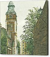 St Johns Church Wapping From Scandrett Street Canvas Print