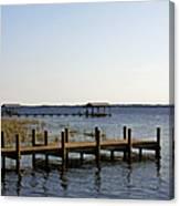 St Johns River Florida - Walk This Way Canvas Print