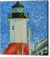 St. Joseph Lighthouse Lake Michigan Canvas Print