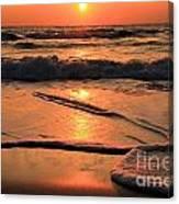 St. Joseph Sunset Swirls Canvas Print