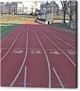 St Josephs University Track Canvas Print