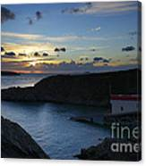 St Justinian Sunset Canvas Print