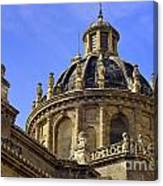St Justo And Pastor Church Canvas Print
