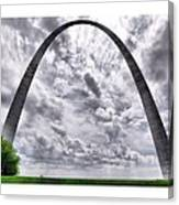 St Louis Arch Canvas Print