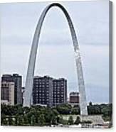 St Louis Arch Canvas Print