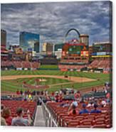 St Louis Cardinals Busch Stadium Dsc06139 Canvas Print