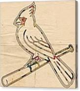 St Louis Cardinals Logo Art Canvas Print