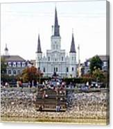 St Louis Cathedral Canvas Print