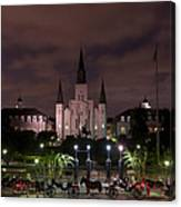 St. Louis Cathedral In Jackson Square Canvas Print