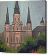 St. Louis Cathedral Canvas Print