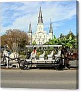 St Louis Cathedral New Orleans Canvas Print