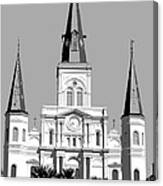 St Louis Cathedral Poster 1 Canvas Print