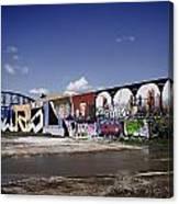 St Louis Graffiti Canvas Print