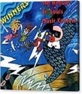 St Louis Music Contest Winners Canvas Print