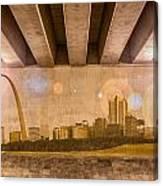 St. Louis Skyline Canvas Print