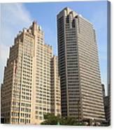 St. Louis Skyscrapers Canvas Print