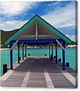 St. Maarten Pier Canvas Print