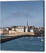 St Malo Canvas Print