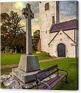 St. Marcellas Celtic Cross Canvas Print