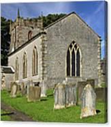 St Margaret's Church - Wetton Canvas Print