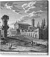 St Maria In Domenica Canvas Print