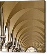 St. Marks Basilica Arches Venice Canvas Print