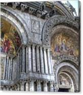 St Marks Entry - Venice Italy Canvas Print