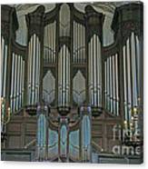 St Martins In The Field Organ Canvas Print