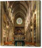 St. Mary Cathedral Basilica Of The Assumption Canvas Print