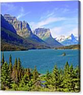 St. Mary Lake,  Glacier National Park Canvas Print