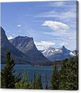 St Mary Lake Vista Canvas Print