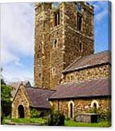 St Mary's Church Conway Canvas Print