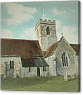 St Marys Church Dinton Wiltshire Canvas Print