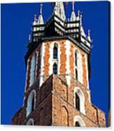 St. Mary's Church Tower Canvas Print