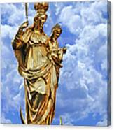 St Mary's Column Marienplatz Munich Canvas Print