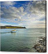 St Mawes Ferry Duchess Of Cornwall Canvas Print