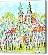 St. Michaeli Church In Munich Canvas Print