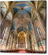 St. Michael's Church Alter Canvas Print