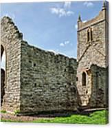 St Michael's Church - Burrow Mump 5 Canvas Print