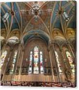 St. Michael's Church Windows Canvas Print