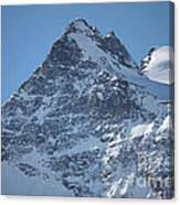 St Mortiz Peaks Canvas Print