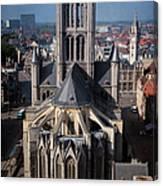 St Nicholas Church View Canvas Print