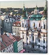 St Nicholas Prague Canvas Print