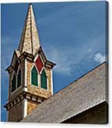 St Olaf Steeple Canvas Print